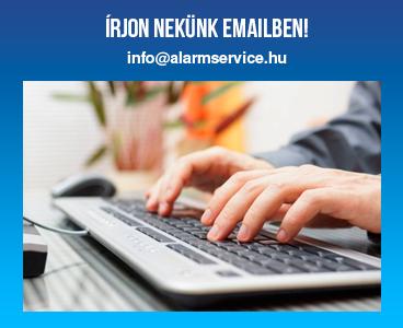 Írjon nekünk emailben